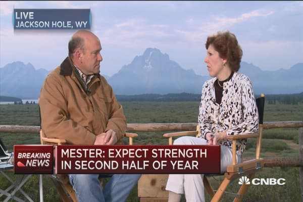 Error bands around rates forecast: Fed's Mester