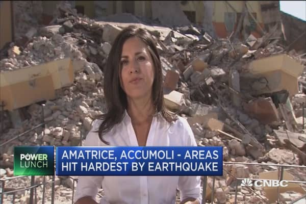 Search & clean up operations continue after Italy quake