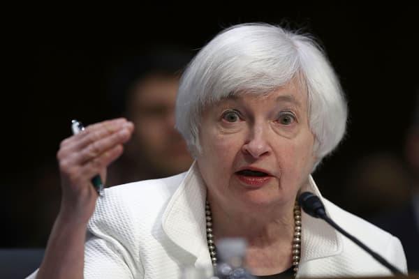 U.S. Federal Reserve Board Chairwoman Janet Yellen