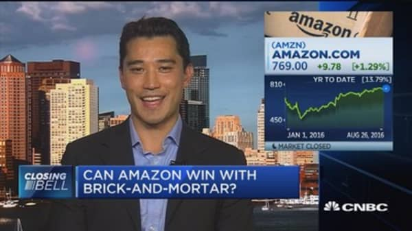Can Amazon win with brick-and-mortar?