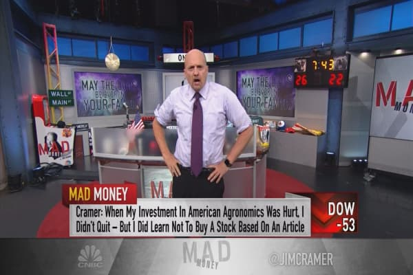 Cramer: How stocks paid for me to go to college