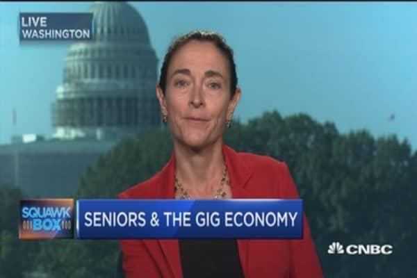 Seniors & the gig economy