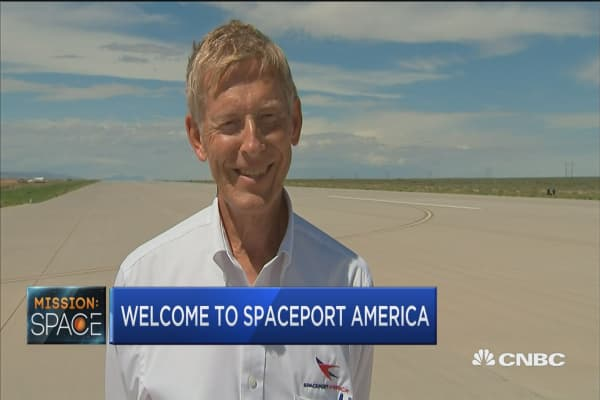 Welcome to Spaceport America