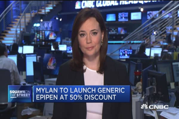 EpiPen goes generic