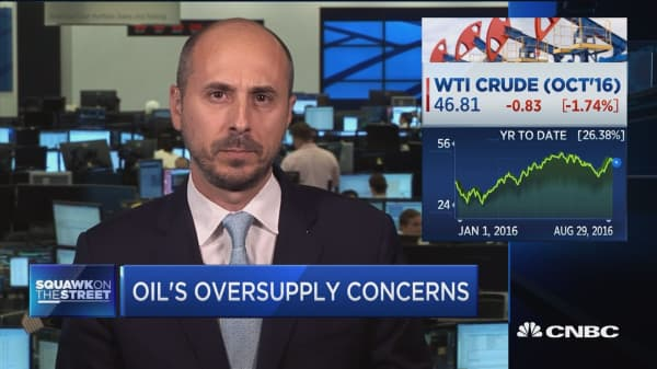 Strong dollar weighing on oil