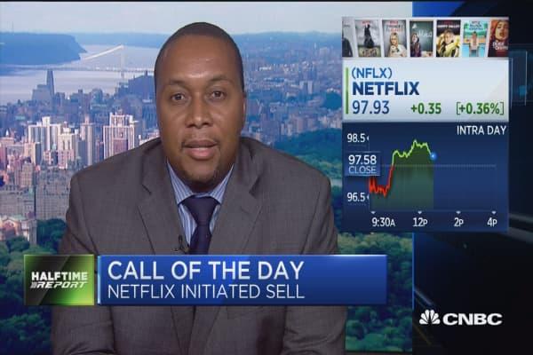 Axiom: Sell Netflix