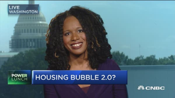 New housing bubble here?