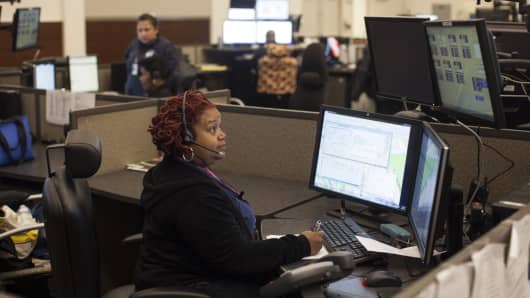 Office of Unified Communications dispatcher