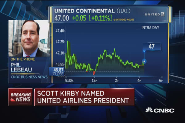 Exec Scott Kirby leaves American, joins United