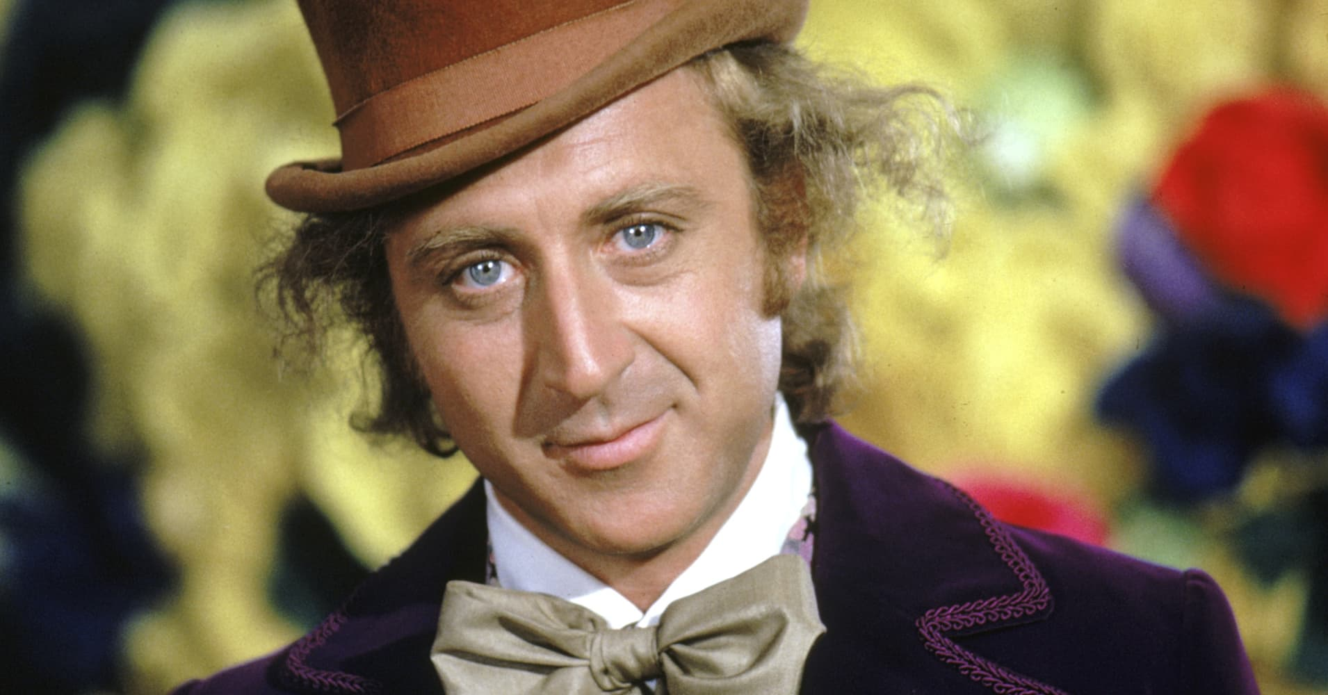 Gene Wilder as Willy Wonka in 'Willy Wonka & The Chocolate Factory'
