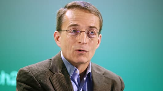 Pat Gelsinger, chief executive officer of VMware