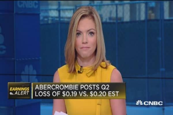 Abercrombie & Fitch comp sales down 4%