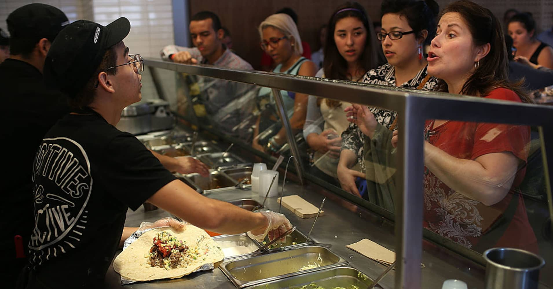 Chipotle downgraded by Bank of America on new concern: It's paying employees too much