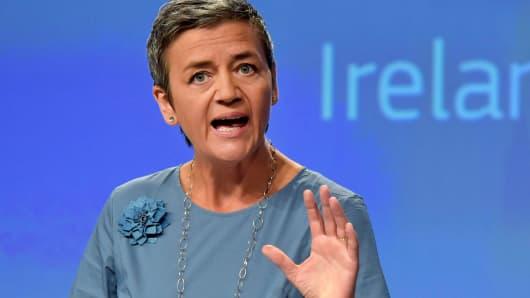 European Commissioner Margrethe Vestager