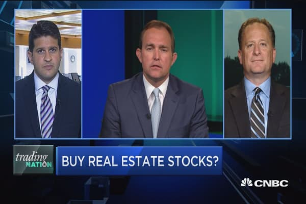 Trading real estate stocks