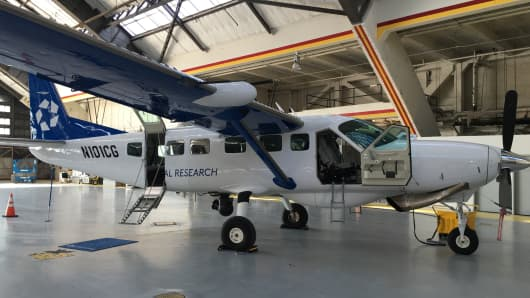 CoStar Group is using this aircraft to augment research on new apartment construction.