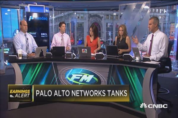 Palo Alto Networks tanks