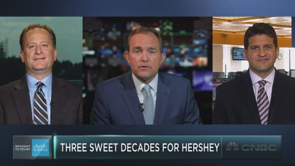 It's been three sweet decades for Hershey