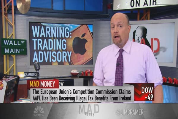 Cramer: Apple's chart is the worst in the book