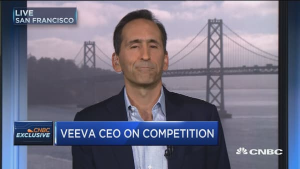 Veeva CEO on competition