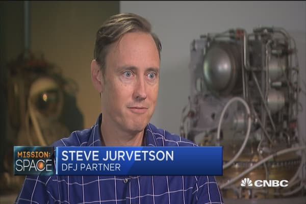 Silicon Valley's top space investor