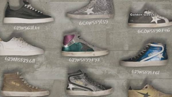 Designer sells $600 'distressed' shoes