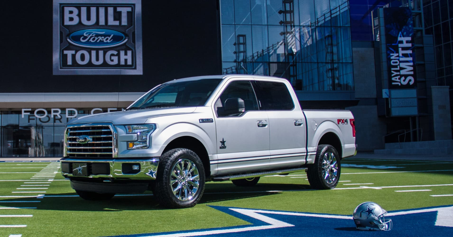Ford teams up with Dallas Cowboys on limited-edition F-150