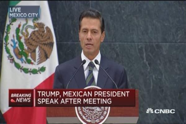 Peña Nieto: Mexico-US relationships is important