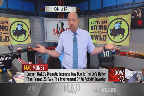 Cramer's still not hungry for Buffalo Wild Wings' dramatic comeback