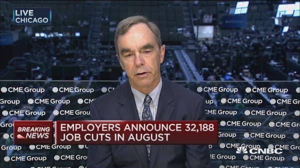 Job cuts decline in August
