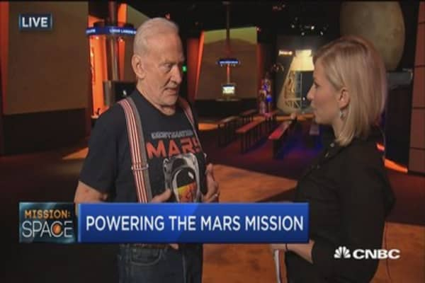 Buzz Aldrin on the future of space