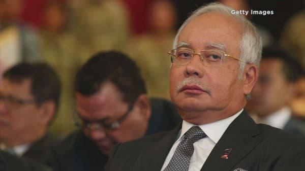 Malaysia's PM Najib mentioned in DOJ probe