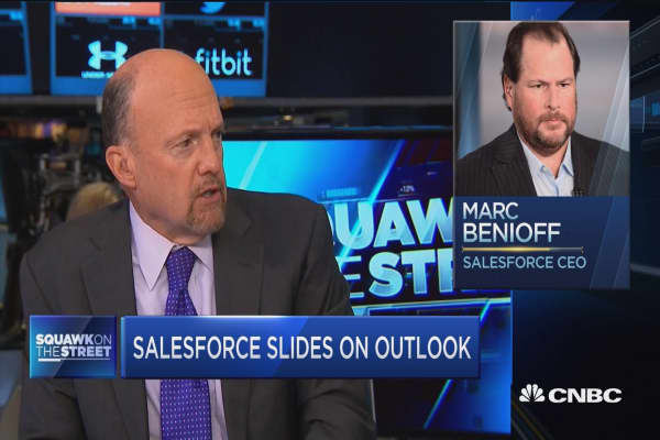 Jim Cramer: Give Salesforce the benefit of the doubt