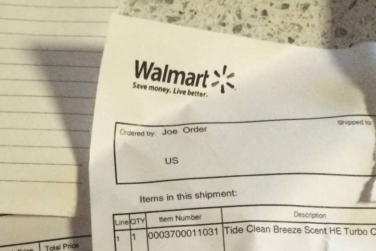 When Buying On Amazon Means A Sale For WalMart Or Target - How to create a invoice walmart online shopping store pickup