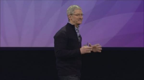 Apple CEO claims EU tax ruling was 'political'