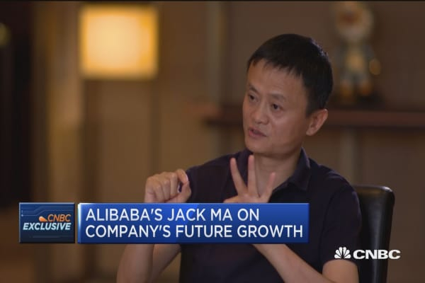 Alibaba's Jack Ma on company's future growth