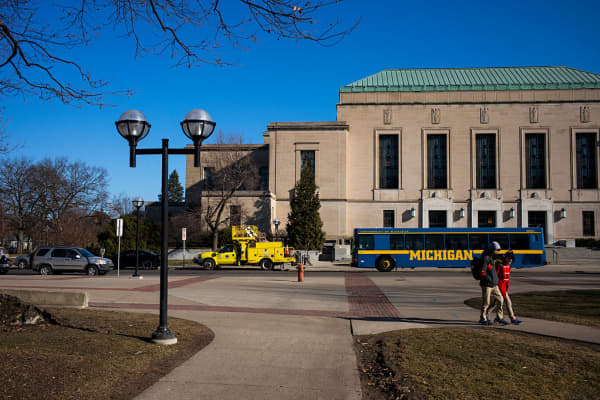 University of Michigan in Ann Arbor, Michigan
