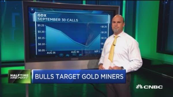 Bulls target gold miners