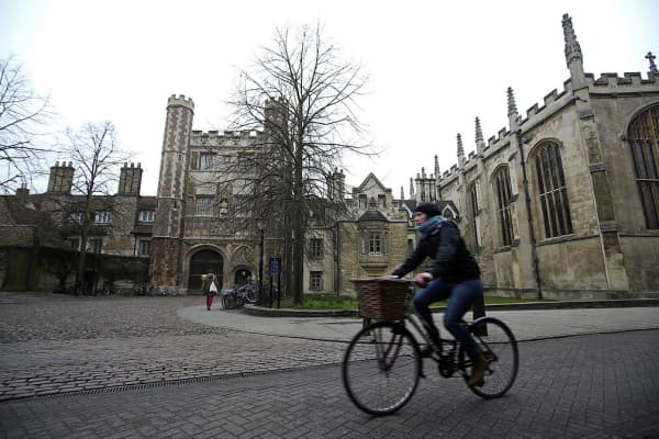 University of Cambridge, in Cambridge, U.K.