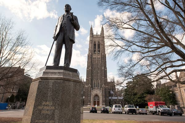 Duke University in Durham, North Carolina