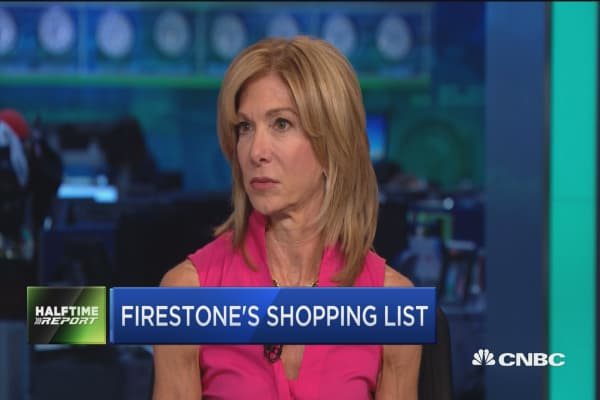 Hunting for value: Firestone's new buys