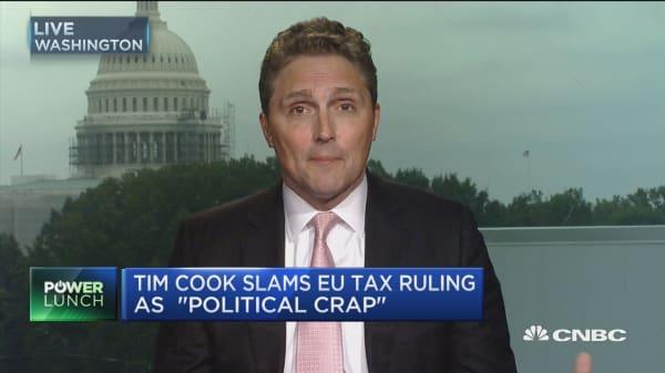 Cook: Apple's EU tax bill 'total political crap'