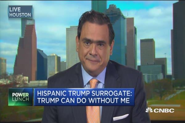 Trump surrogate yanks support after last night's speech