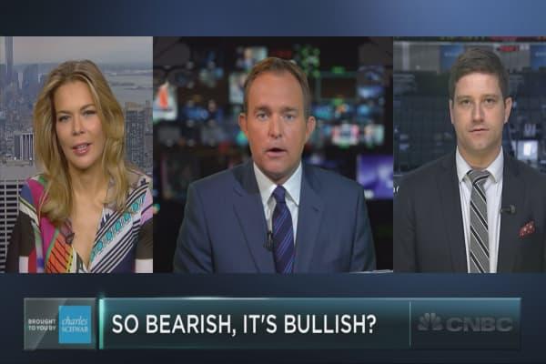 Wall Street so bearish, it's bullish?