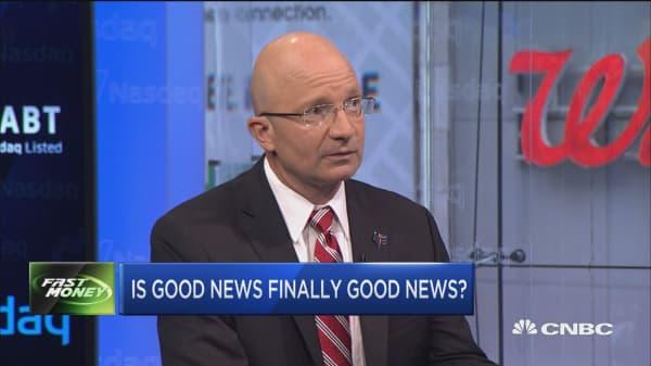 Is good news finally good news?