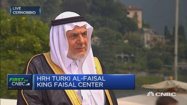 All oil producers deserve a say: HRH Turki al-Faisal