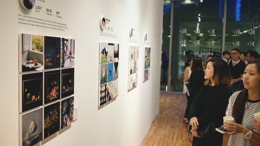 Instagram photo exhibit