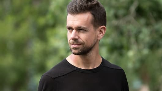 Jack Dorsey, co-founder and CEO of Twitter as well as CEO of Square.