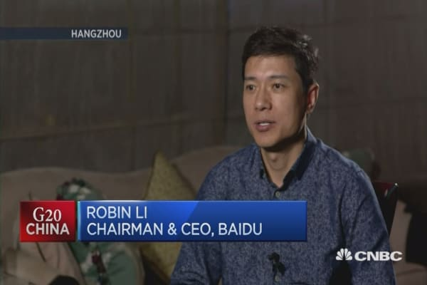 Robin Li: Innovation now more important than ever
