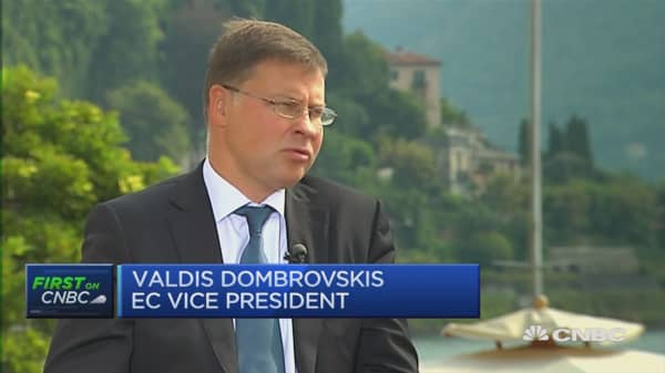 Banking situation in Europe is uneven: EC's Dombrovskis